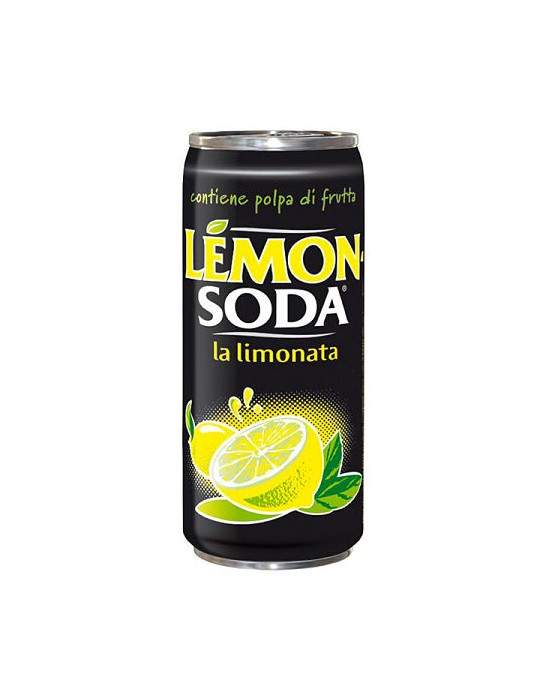 Lemon Soda Lata
