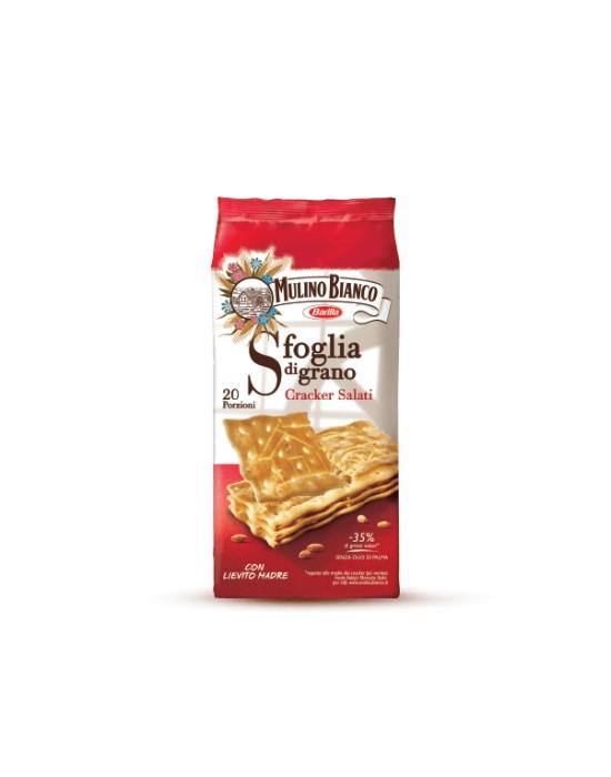 Crackers Mulino Bianco (con granos de sal)