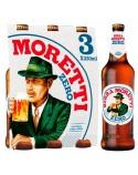 BIRRA MORETTI ZERO (SIN ALCOHOL) 33 CL
