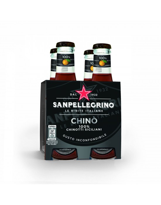 Chinotto Botella Pack x 4
